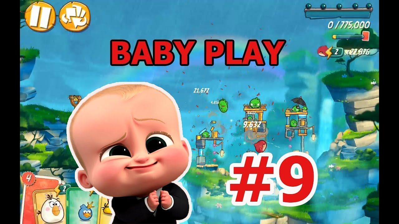 FULL BABY PLAY ANGRY BIRDS 2 #9 ANDROID GAME 2019 - NHỮNG CHÚ CHIM NỔI GIẬN