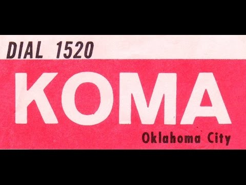 KOMA Oklahoma City  Jan  5 1964 restored audio