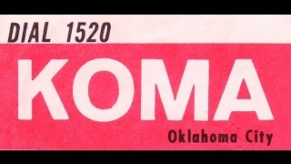 KOMA Oklahoma City  Jan  5 1964 restored audio