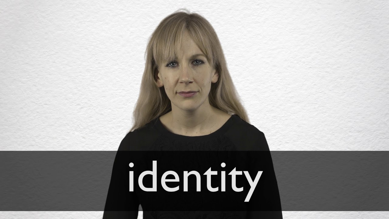 How to pronounce IDENTITY in British English