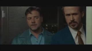 The Nice Guys funny scenes Ryan Gosling Russell Crowe
