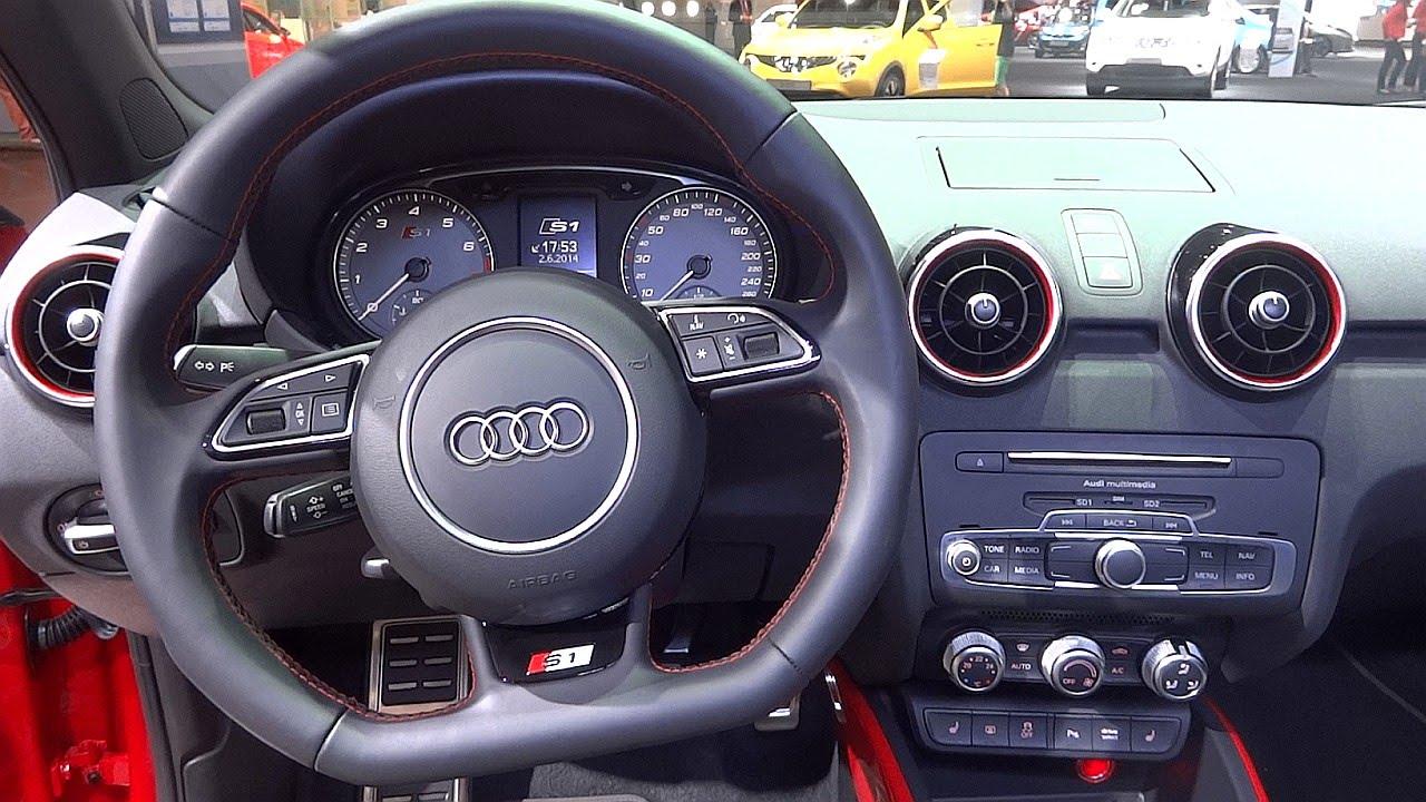 Audi S1 Sportback Quattro 2014 In Detail Interior Amp Sound Youtube