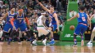 Isaiah Thomas Dishes Through Defender's Legs ...