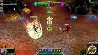 (OLD) Celestine Soraka League of Legends Skin Spotlight