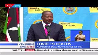 COVID-19 Deaths: Country registers highest number of death; 12 people died over the last 24 hours