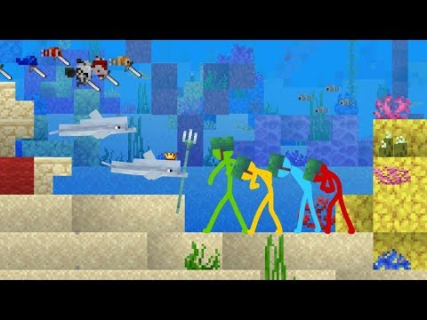 The Dolphin Kingdom - Animation vs. Minecraft Shorts Ep. 13