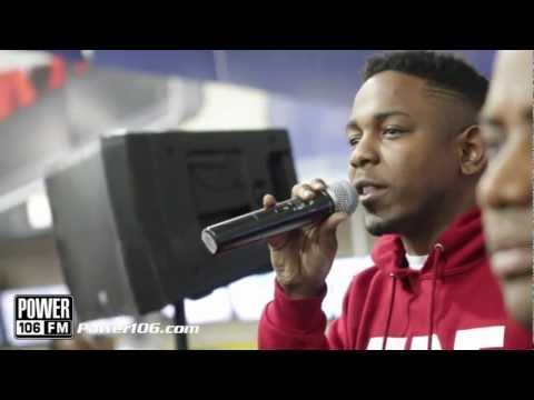 Kendrick Lamar performs 'Swimming Pools' LIVE for POWER 106