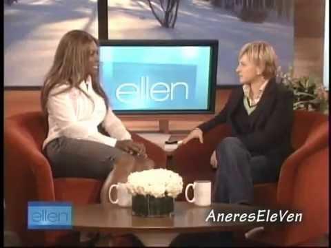 Serena Williams dances with Ellen (FULL INTERVIEW) (2007)