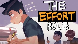How I Learn And Remember Things Easily - The Effort Rule