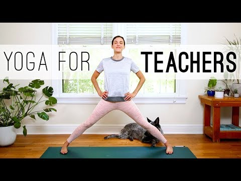 Yoga For Teachers | Yoga With Adriene