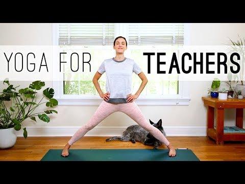 Yoga For Teachers | Yoga With Adriene