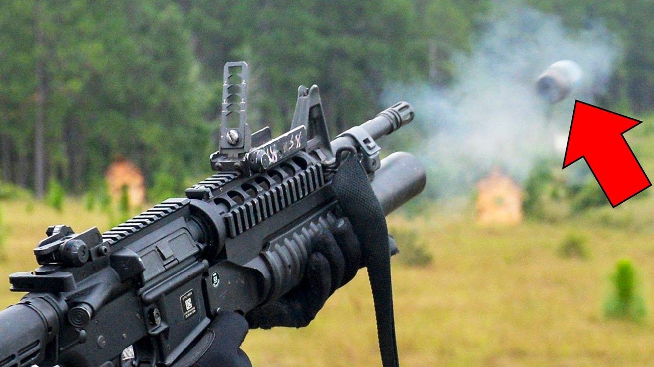 The Little but Murderous M320 & M203 Grenade Launcher in ...