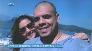 Rio de Janeiro já tem 3 policiais mortos em 9 dias em 2018