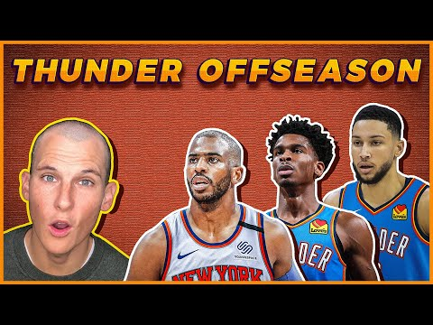 Thunder OFFSEASON plan with TRADES and NEW COACH to continue rebuild [CP3 TRADES]