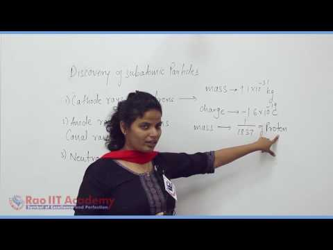 Structure of Atom Part 1 Chemistry Pre foundation Std 8th video lecture