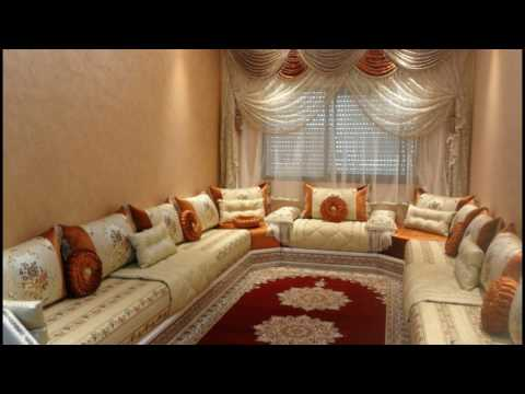 decoration salon marocain 2017. Black Bedroom Furniture Sets. Home Design Ideas