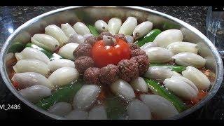 محشي ملفوف البصل طبق صحي(بدون زيت) جديد فاخر ومبتكر من اكلات لبنان