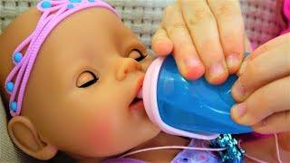 Кукла Беби Борн ПРИНЦЕССА-ФЕЯ Хочет кушать Полина КАК МАМА