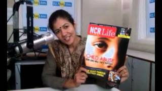 RJ  KHANAK OF  BIG  FM  WATCHING NCR LIFE MAGAZINE