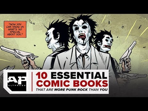 Comic Books that are More Punk Rock than You
