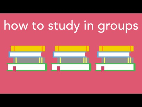 how to study in groups