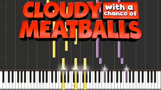 Cloudy with a Chance of Meatballs - Swallow Falls and Main Theme | Piano Tutorial