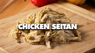 Seitan Recipe for Beginners - How To Make TikTok Seitan Vegan Chicken!