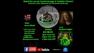 Paranormal Soup Ep 254 guest Marilynn Hughes