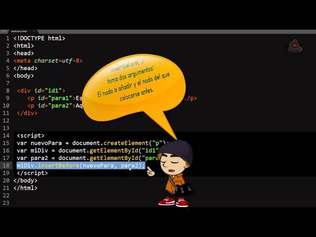 42.- Curso de JavaScript para principiantes. Añadir elementos al DOM.