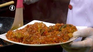 Ashpazi - آشپزی - طرز تهیه گوشت مرغ با بادنجان سیاه