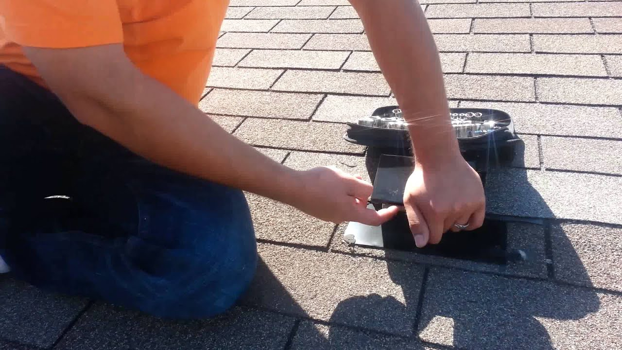 Dryer Vent Cleaning On Roof In Chicago Youtube