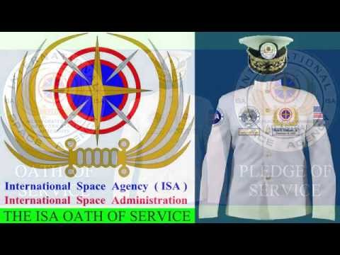Official Oath Of Service - International Space Agency