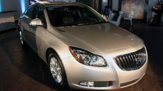 2012 Buick Regal eAssist (2011 Chicago Auto Show)