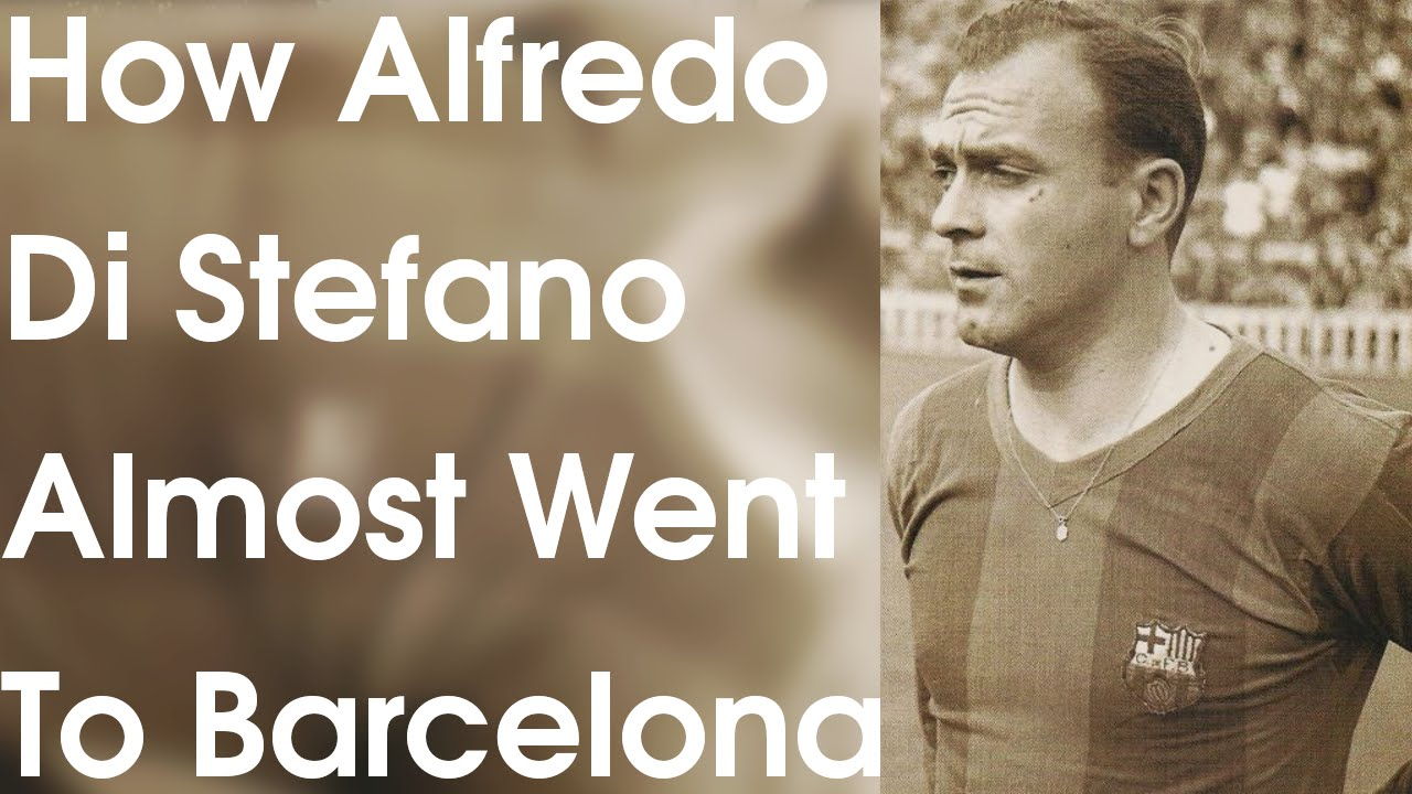YYFP Shorts How Alfredo Di Stefano Almost Went To Barcelona