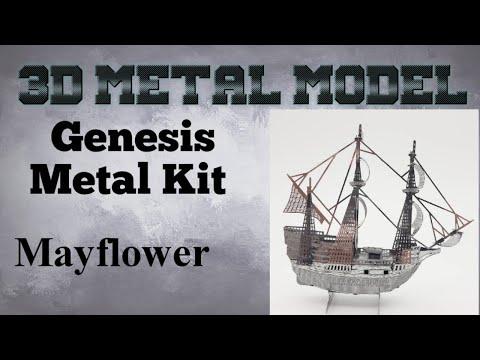 Genesis Metal Model Build - Mayflower