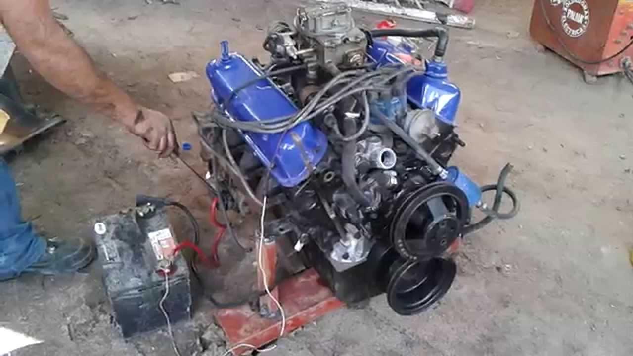 Motor Ford 302 En Venta Youtube