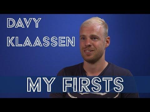 MY FIRSTS: DAVY KLAASSEN