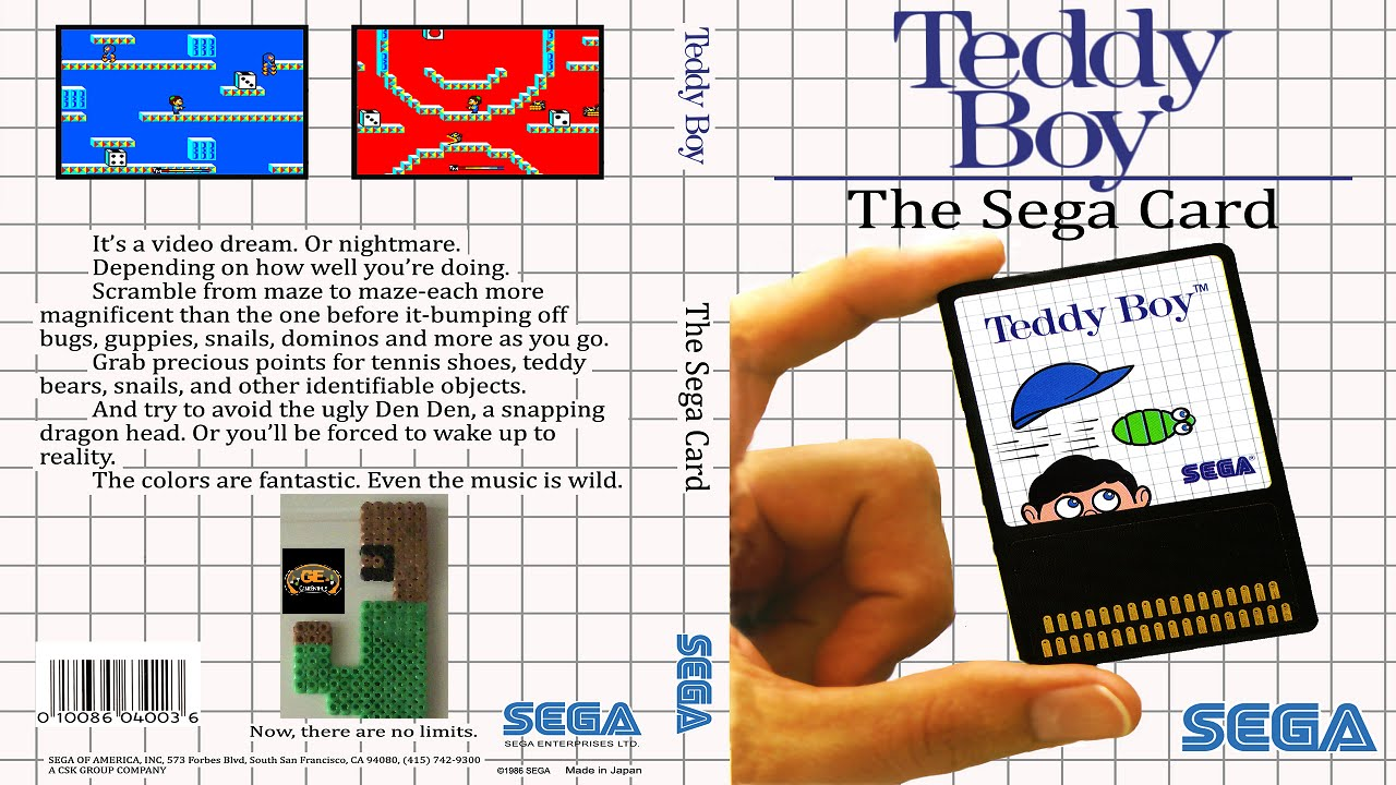 Back When Teddy Boy On The Sega Master System Youtube