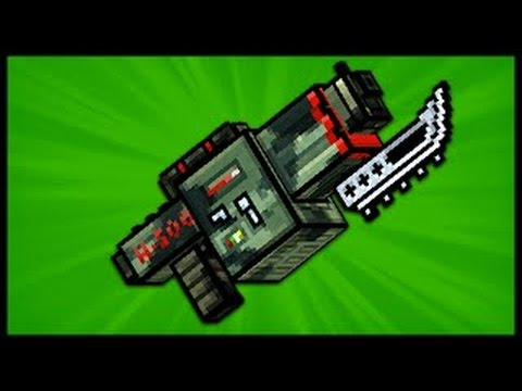 Pixel-Gun3D Mech heavy rifle up1 review
