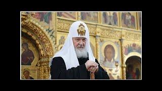 Смотреть видео Патриарх Кирилл проведет телемост