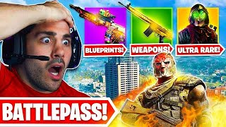 Warzone Season 4 FULL BATTLE PASS & PATCH NOTES 😯