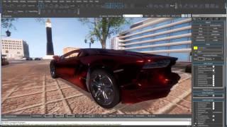 Cryengine Drivable Lamborghini Aventador Free Download