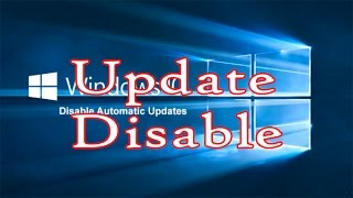How To Stop Windows 10 From Automatically update - bangla tutorial