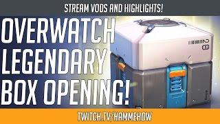 Overwatch - Legendary Skin Loot Box Opening (50x)! | Hammeh