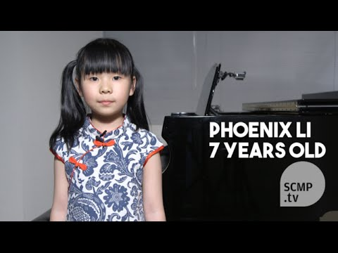 "Hong Kong's 7-year-old piano prodigy plays ""Flight of the Bumblebee"""