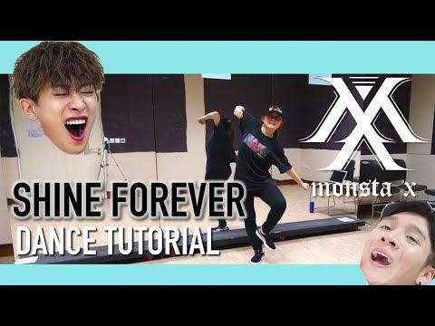 몬스타엑스(MONSTA X) - SHINE FOREVER Dance Tutorial | Full W Mirror [Charissahoo]
