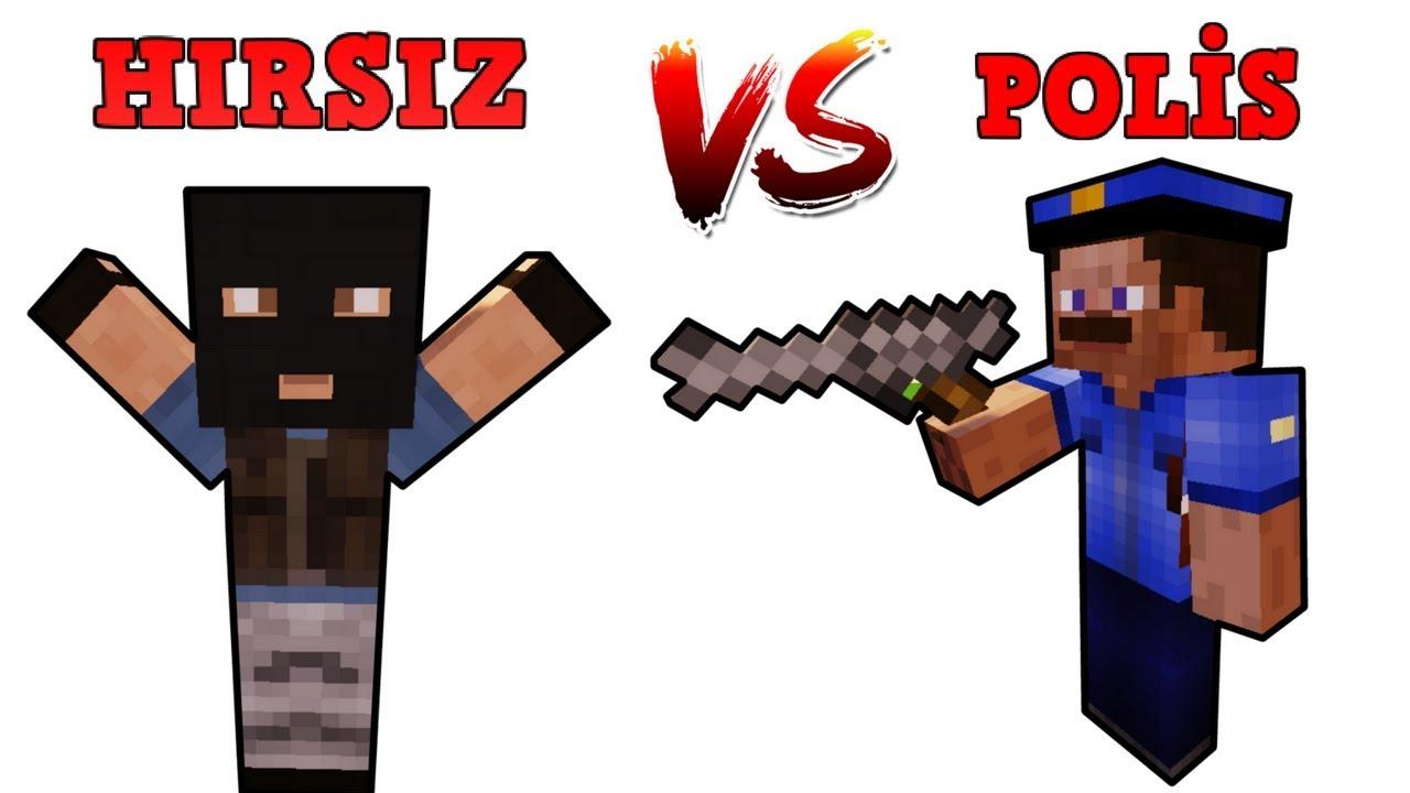 HIRSIZ VS POLİS #6 - (Minecraft)