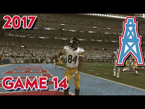 Madden 15 Franchise Mode - Houston Oilers | Season 4, Game 14 vs Steelers