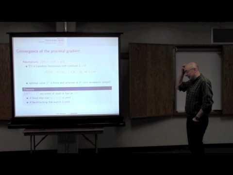 Eric Moulines: On stochastic proximal gradient algorithms