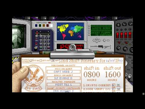 ICBM: Cold War Silo Operator Simulator - Longplay (Blind) 1080p 60fps